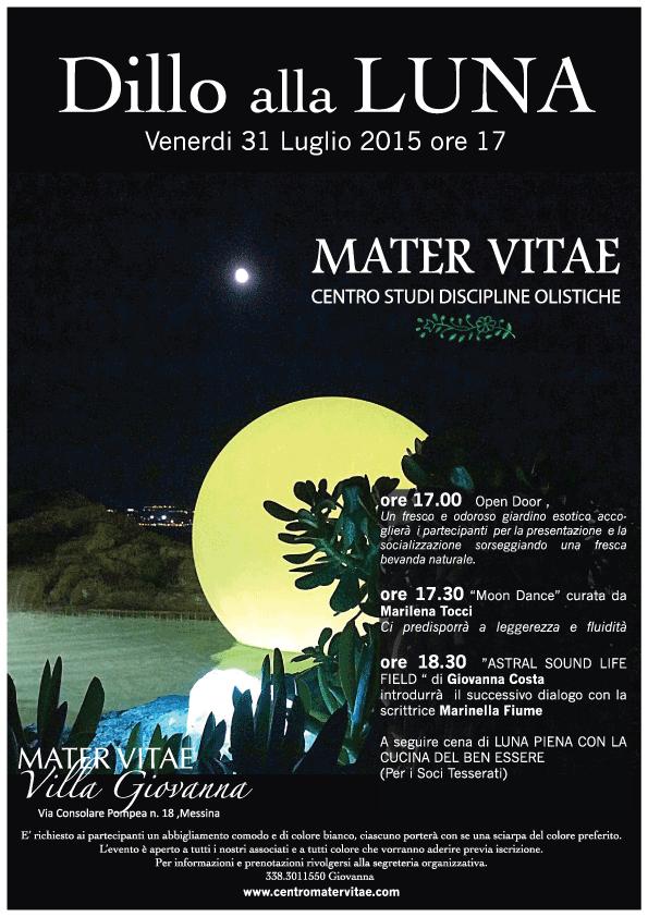 Dillo alla Luna - Mater Vitae